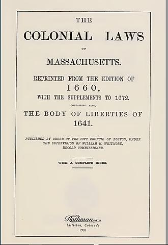 Body of Liberties
