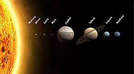 The solar system- events, discoveries and scientists timeline