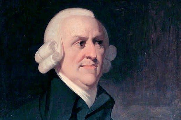 Lo que Adam Smith expresa en su libro Riqueza de las Naciones