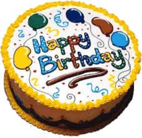 The birthday of Luisa.