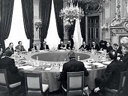 The European council meets in Rome
