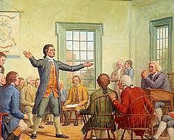 First Continental Congress Meets