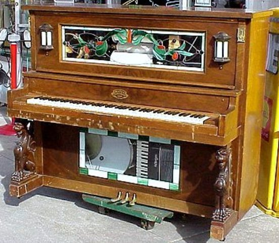 The player piano