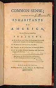 Publication of Common Sense
