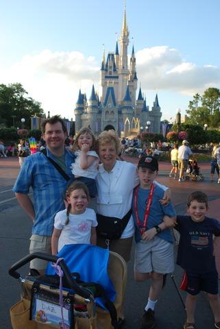 Spent a week in Disney World.