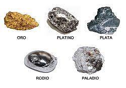 Uso de metales preciosos