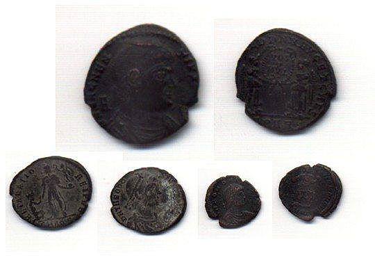 Las primeras monedas