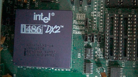 MICROPROCESADOR 80486 Y i860 CHIP RISC/COPROCESADOR: