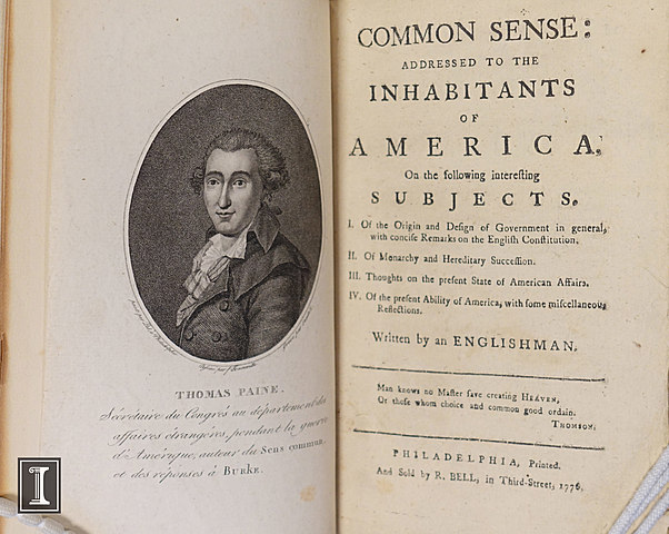 Publication of common sence