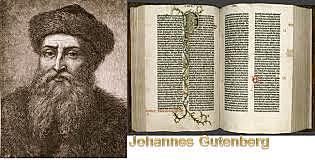 Siglo XV ¿Quién inventó la imprenta?