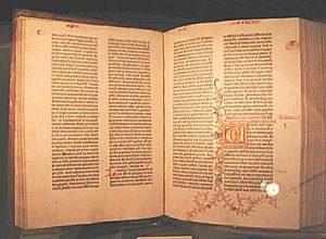 """1452 """"LA BIBLÍA DE 42 LÍNEAS"""""""