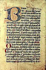 """1457- """"PSALTER IN LATIN"""""""