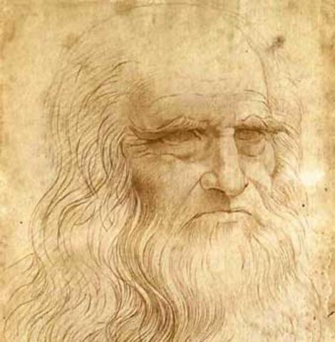 Leonardo becomes apprentice of Andrea Del Verrochio