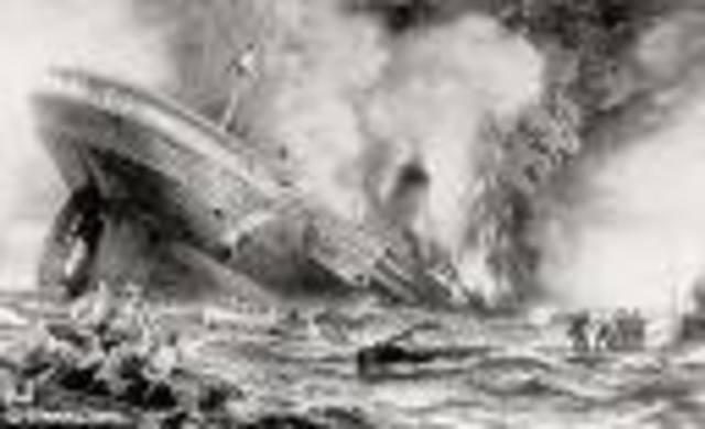 Lusitania Sinking