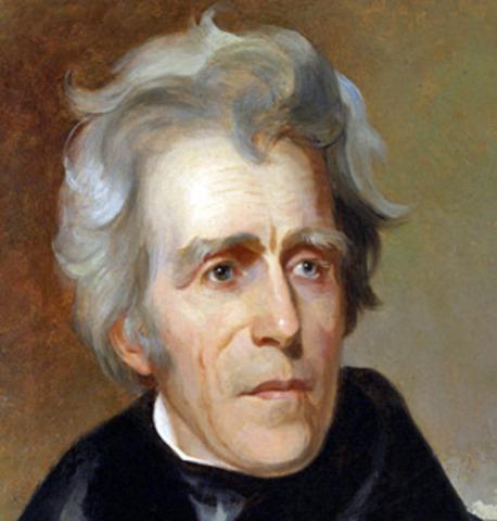 Andrew Jackson is born