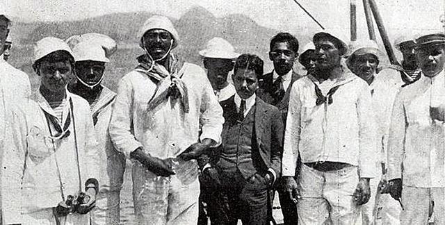1910 - Revolta da Chibata, RJ / Presidente: Hermes da Fonseca
