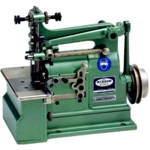 Merrow invents first crochet stitch machine