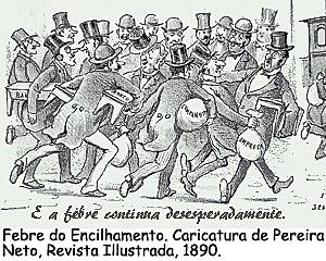Rui Barbosa adota política econômica denominada Encilhamento