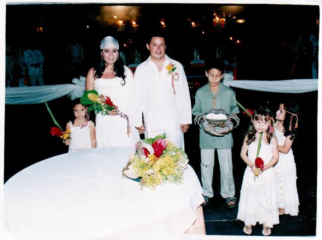 When I was little bridesmaid