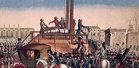 Charles I Beheaded