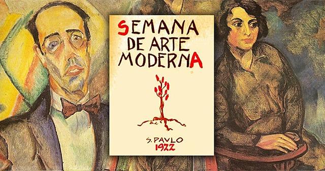 Semana da Arte Moderna em São Paulo