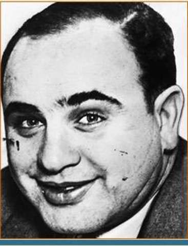 """Al Capone becomes """"Scarface"""""""