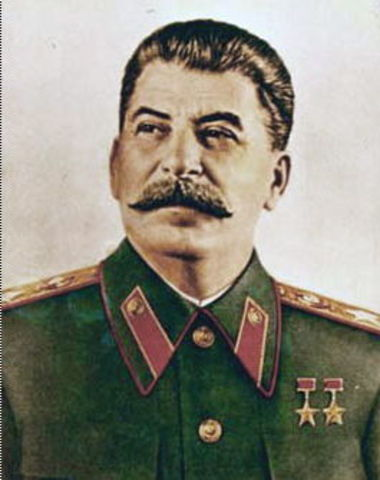 Stalin takes power of the USSR