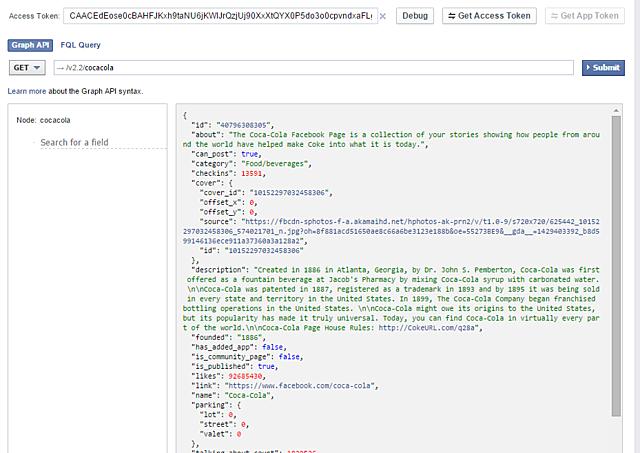 Facebook lanza Graph API 1.0, que permite la recopilación de datos del usuario.