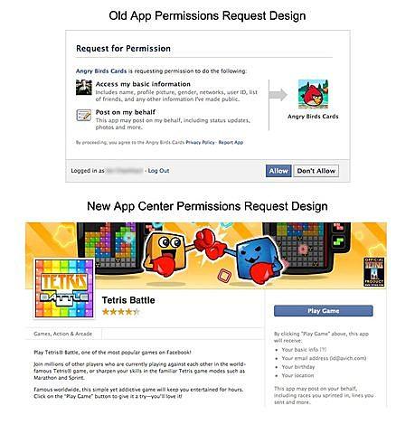Facebook ajusta su diseño para que sea menos obvio para los usuarios que estaban recuperando su información privada.