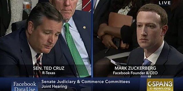 """The Guardian revela que Cambridge Analytica trabajó con la campaña presidencial de Ted Cruz y utilizó """"datos psicológicos"""" de millones de usuarios de Facebook."""