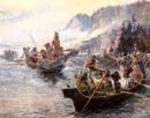 The explorers heads home.