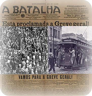 Greve geral dos operários em São Paulo