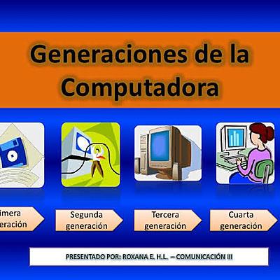 Generaciones de la computadora timeline