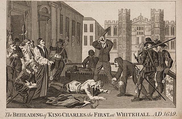 King Charles 1 execution