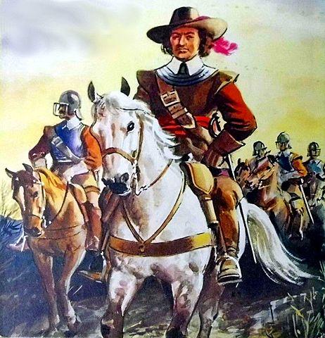 Roundheads win the English Civil War