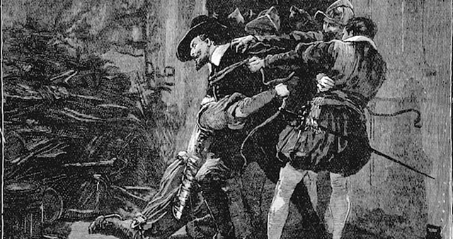 Guy Fawkes is executed