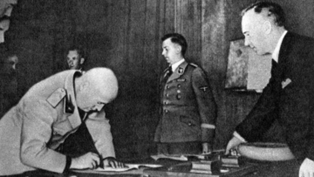 Germany and the USSR Signed the Germany
