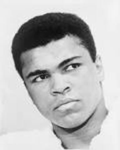 Muhammad Ali Retires