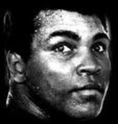 Muhammad Ali was born