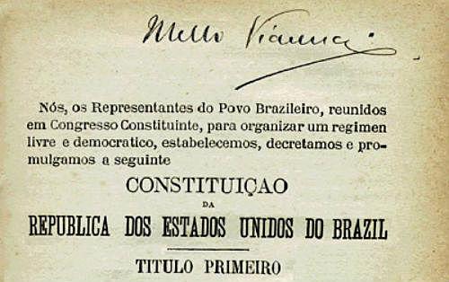 Primeira Constituição republicana do Brasil
