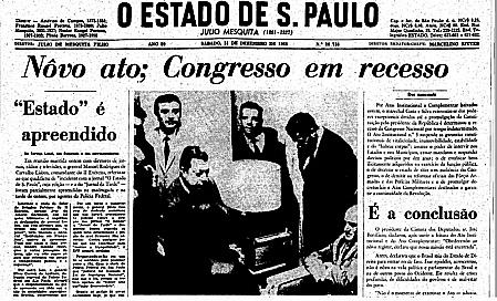 Fechamento do Congresso Nacional