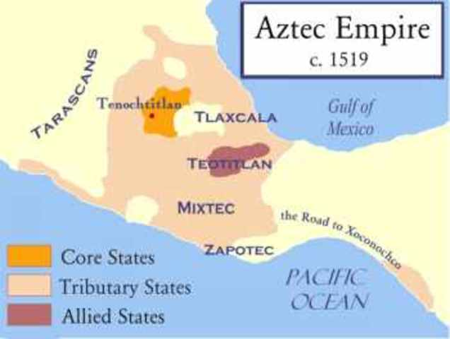 Landing of Hernan Cortes on the Yucatan penninsula