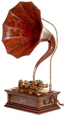 thomas eddison invents phonograph