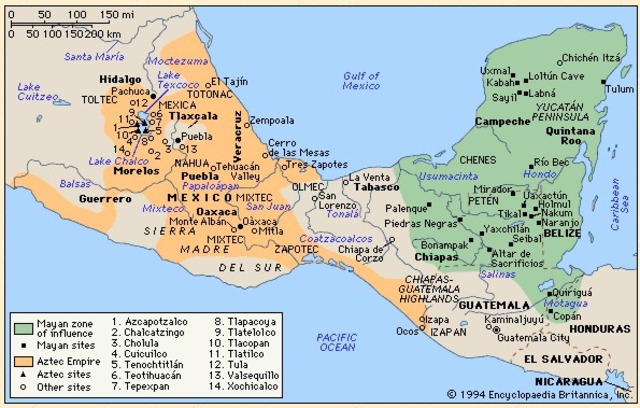 The Mexica roam the area which is now Mexico, trying to find a location in which to settle