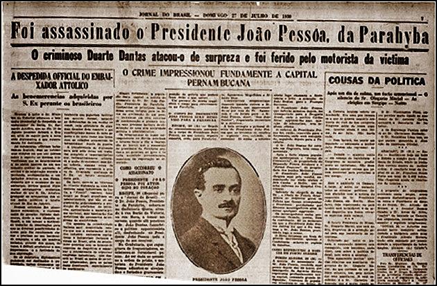 Assassinato de João Pessoa