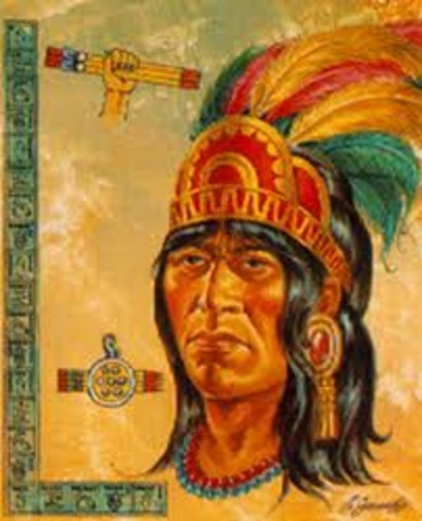 The first king* of Tenochtitlán, Acamapichitli, rules