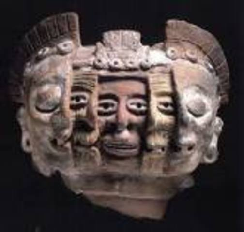 The second king of Tenochtitlán, Huitzilihuitzli, rules.  An alliance with the Tepaneca is created.