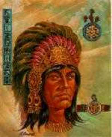 The third king, Chimalpopoca, has his relatively short reign.  He is assasinated by the Tepaneca.