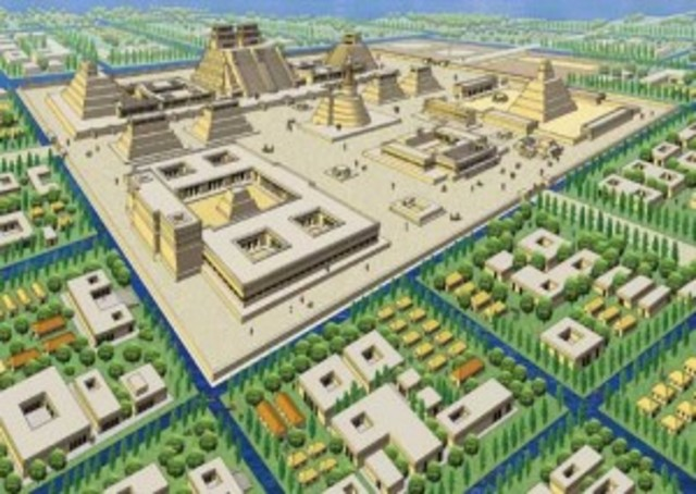 Tenochtitlán is settled by the Mexica