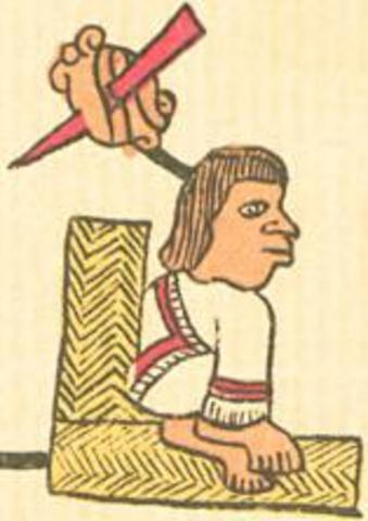Reign of Tizoc, the seventh king of Tenochtitlán